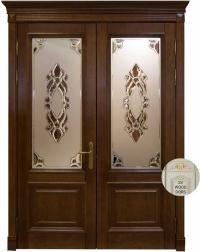 Межкомнатные двери Wood Doors, Регина (двойная)