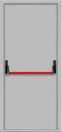 Противопожарные двери EI 30 Замок антипаника. 2050 х 860/960 мм.