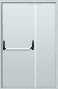 """Противопожарные двери двустворчатые EI 60 серии """"Барьер 3"""" 2050х1200 мм + замок антипаника"""