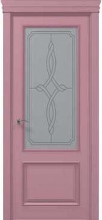 Дверь Папа Карло Art Deco ART-02 стекло бевелз