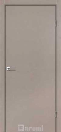 Межкомнатные двери Darumi модель Plato алюминиевый торец
