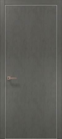 Дверь Папа Карло Plato-01 (алю)