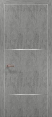 Дверь Папа Карло Plato-02 (алю)