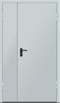 """Противопожарные двери двупольные EI 30 серии """"Рубеж 3""""- 2050х1200 мм."""