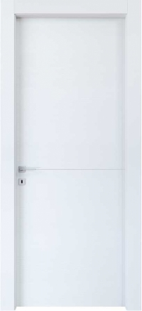 Изображение двери в цвете bianco azimut
