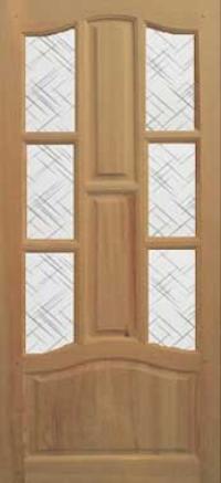 Межкомнатные двери Венеция под стекло