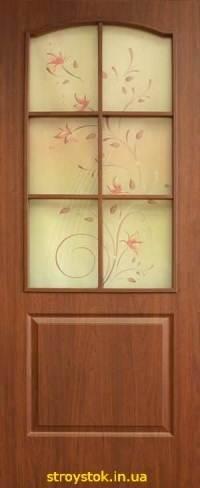 Межкомнатные двери Классика ПВХ СС+ФП