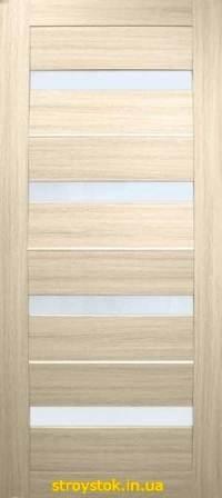 Межкомнатные двери Милано ПВХ (стекло сатин)