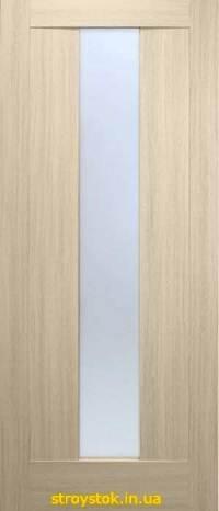 Межкомнатные двери Троя ПВХ (стекло сатин)