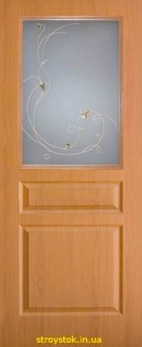 Межкомнатные двери Классика Барселона ПВХ СС+КР