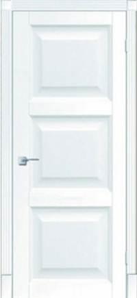 Межкомнатная дверь Тессоро К 4 ПГ белая эмаль