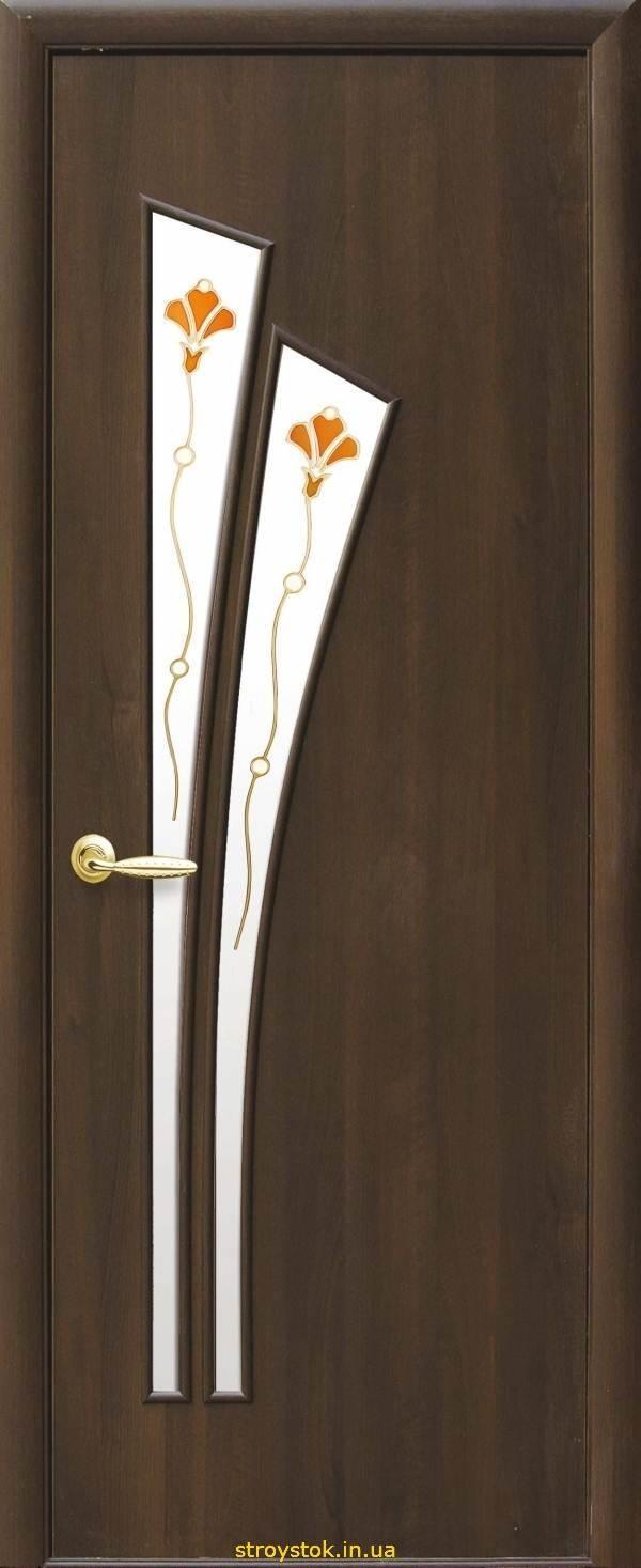 "Межкомнатные двери ""ПВХ Модерн Р"" Li (Лилия) Р1"