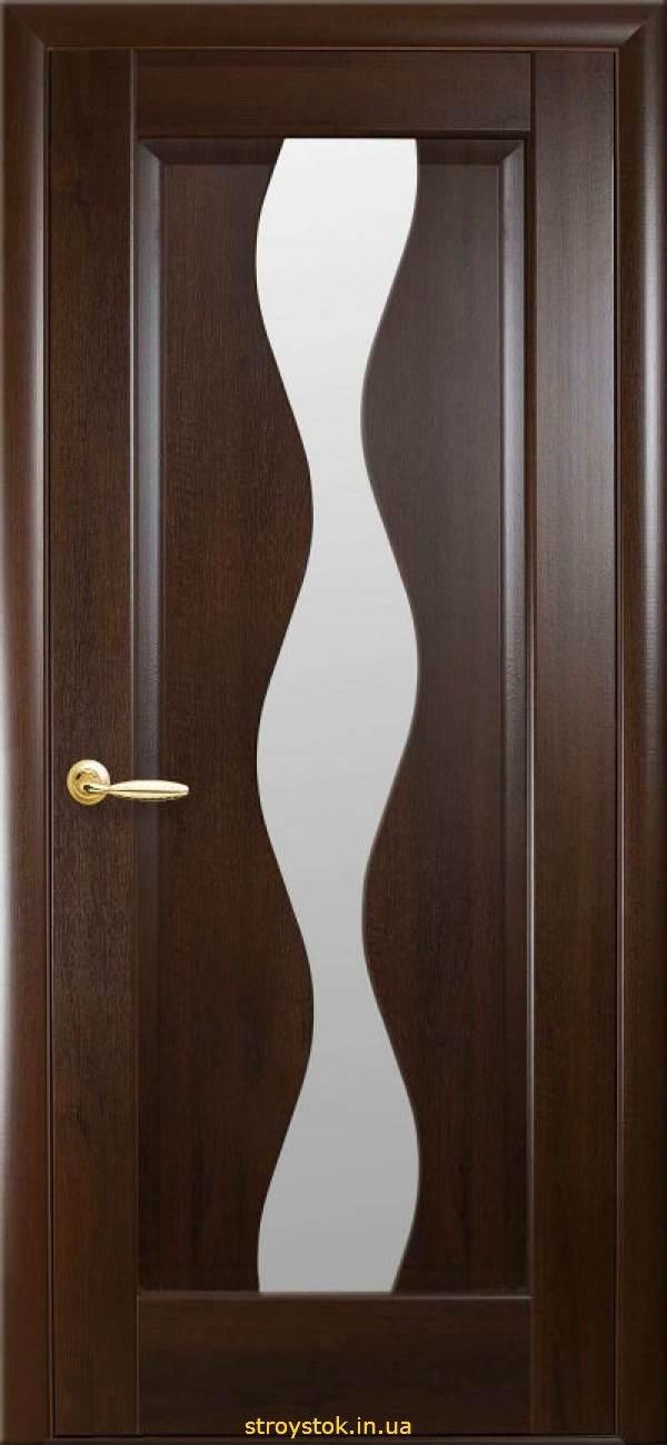 """Межкомнатные двери """"Маэстра"""" V (Волна) Gr"""