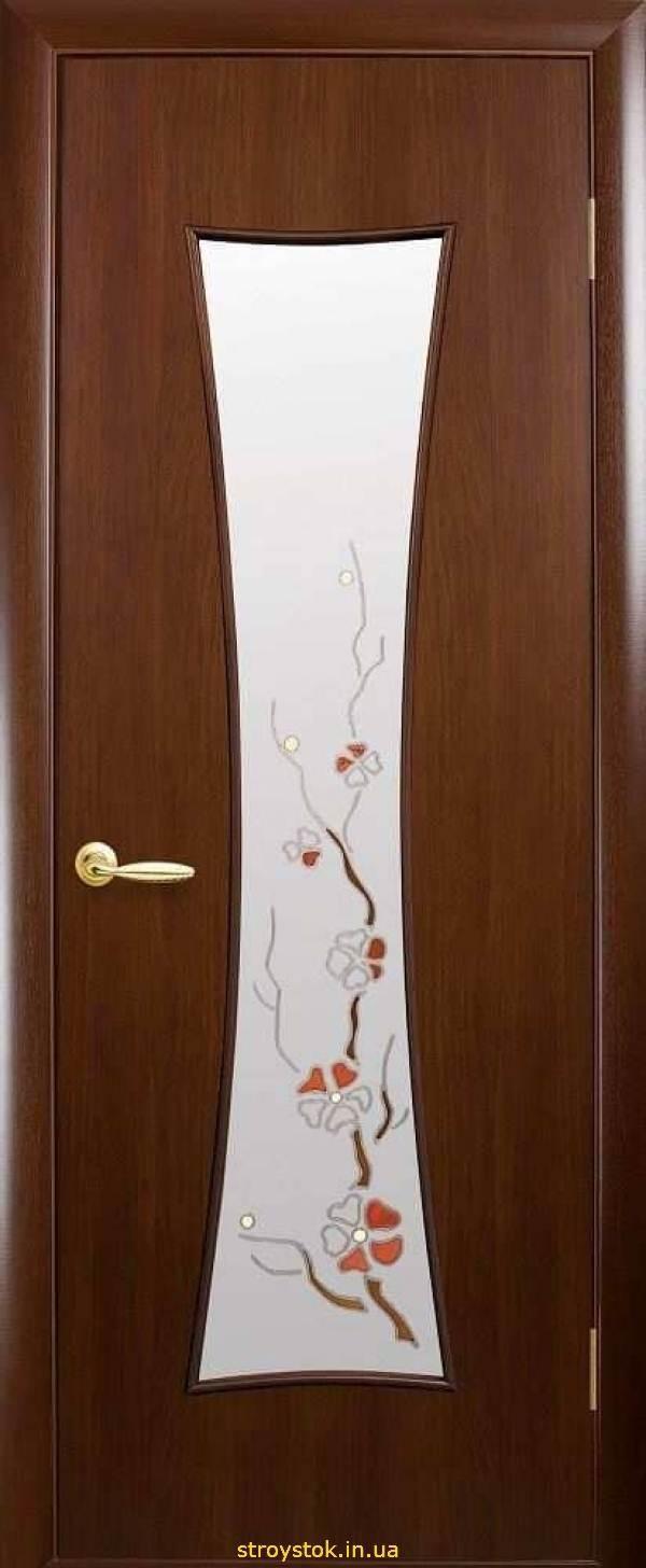 "Межкомнатные двери ""Модерн Р"" Т (Часы) Р1"