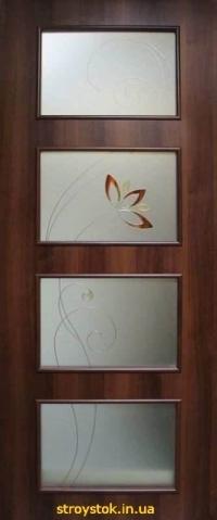 Межкомнатные двери с контурным рисунком Альта 3