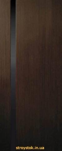 Межкомнатные двери Премьера 1 ПО (триплекс черный)