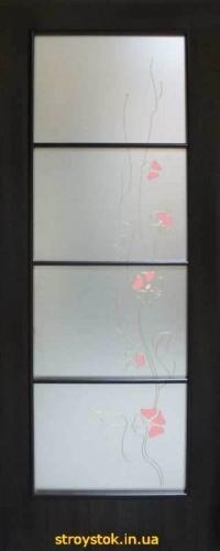 Межкомнатные двери с контурным рисунком Альта 4