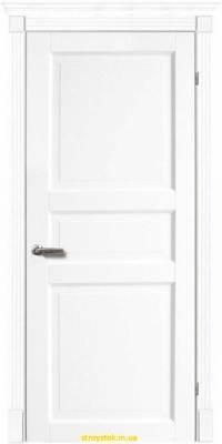 Межкомнатная дверь Тессоро К 3 ПГ белая эмаль