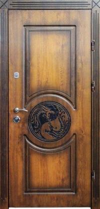 Входная дверь Элит П 12 патина