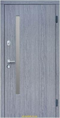 Входная дверь Steelguard АV-1 Grey Glass Дуб вулкано  157