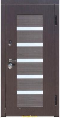 Входная дверь Steelguard Milano Light (Венге темный/Венге светлый, 117)