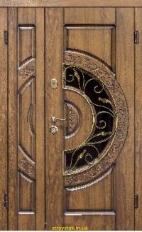 Входная дверь Steelguard Optima Big Glass (стеклопакет, 158)
