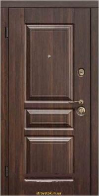 Входная дверь Steelguard Termo Screen Темный орех (117)