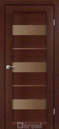 Межкомнатные двери Darumi модель Marsel стекло бронза