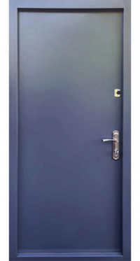 Входная дверь FORT Металл/Металл антрацит