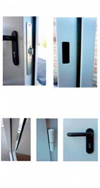 Входная дверь FORT EI-60, Противопожарная 1200 мм