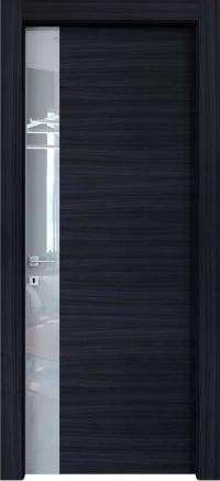 Межкомнатные двери Braga, модель VS 04 Palissandro Blu
