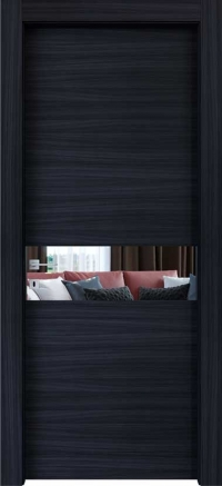 Межкомнатные двери Braga, модель VS 03 Palissandro Blu