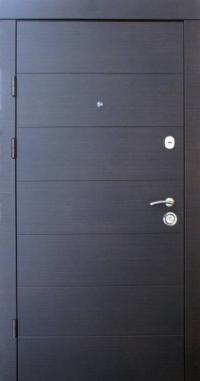 Входные двери Qdoors Премиум Горизонталь 2 цвета