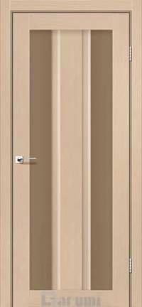 Межкомнатные двери Darumi модель Selesta стекло бронза