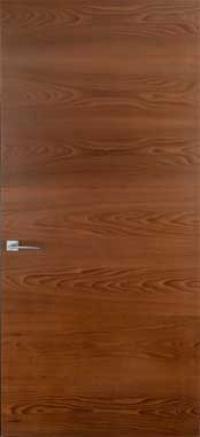 Двери скрытого монтажа шпон натуральный 55 профиль