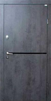Входная дверь FORT Стандарт Лита Black