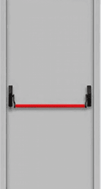 "Противопожарные двери EI 60 серии ""Барьер 3"" 2050х860/960 мм + замок антипаника"