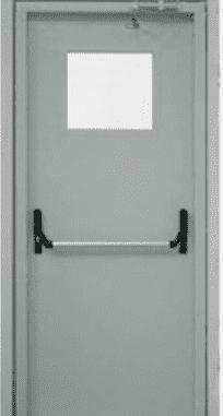 "Противопожарные двери EI 30 Замок антипаника. 2050 х 860/960 мм. Серии ""Рубеж 2"""
