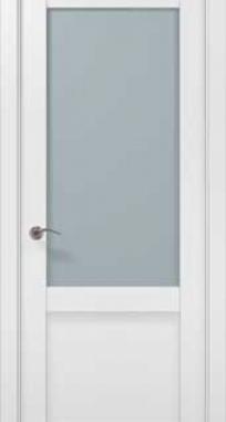 Межкомнатные двери Millenium ML-35 сатин Папа Карло