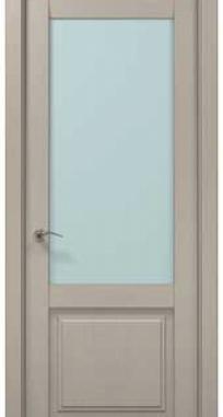 Межкомнатные двери Millenium ML-11 сатин Папа Карло