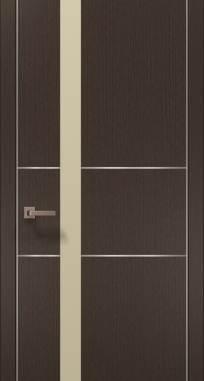 Дверь Папа Карло Plato-08(алю)