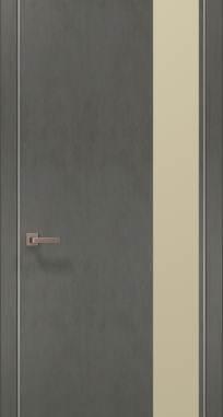 Дверь Папа Карло Plato-05 (алю)