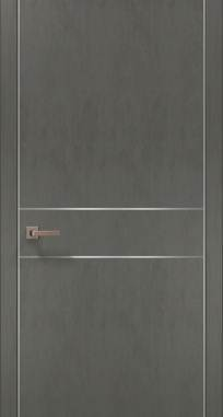 Дверь Папа Карло Plato-07 (алю)