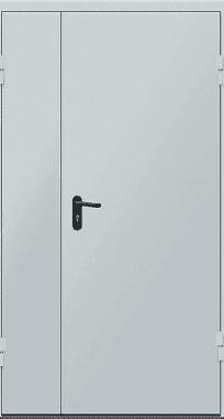 Двери противопожарные двустворчатые ЕІ-30 2050х1200 мм Щит 1