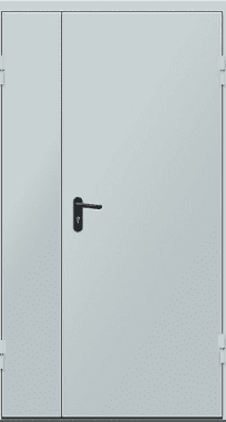 "Противопожарные двери EI 60 серии ""Барьер 3"" 2050х1200 мм"