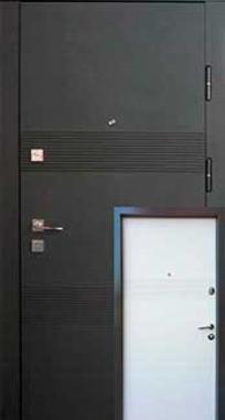 Входная дверь FORT Протект Агата венге/ваниль