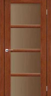 Межкомнатные двери Darumi модель Avant стекло бронза