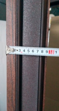 Двери Very Dveri Браун Гласс, Коттедж
