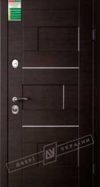 Дверь входная Двери Украины БС 3 Куб, KALE