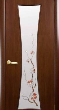 Межкомнатные двери Модерн Часы